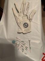 """Tiltleist LS Junior Sz Golf Glove White Ball Mark Magnetic +10 Tee Plastic 23/4"""""""