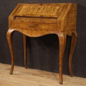 Fore Furniture Secretary Desk Secrétaire Wooden Inlaid Antique Style 900