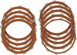 Drag Specialties Organic Friction Clutch Plate Kit (9 Plates) for Big Twin 98-14