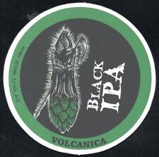 Uruguay beer coaster Volcánica Black IPA