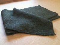 Military Issue Olive Green Swedish Army Wool Scarf