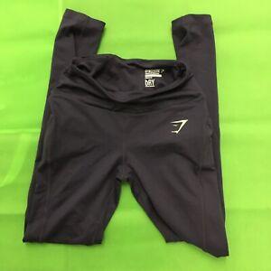 Gymshark Womens Purple Dry Active Leggings Size XS Extra Small Full Length EUC