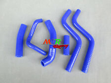 For Honda CR250R CR 250 R 2-stroke 1988-1991 silicone radiator hose blue