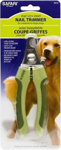 Coastal Pet Safari Nail Trimmer , stainless steel, for med to lg dogs W6107