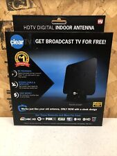 ClearTV X-72 HDTV Digital Indoor Television Antenna New in Box