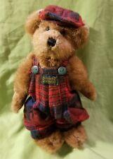Boyds Bears Edmund T. Bear 9175 Plaid Hunter Bearwear & Hat Patch Stuffed Animal