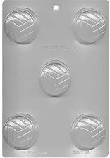 Volleyball Cookie Chocolate Candy Mold from CK #16606