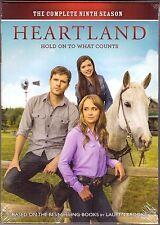 Heartland: Season 9 [DVD Box Set, English, Region 1, 5-Disc] NEW