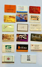 NICE Mini-Collection Lot of 17 OVERSIZED MATCHBOOKS, All Unstruck, V/G Condition
