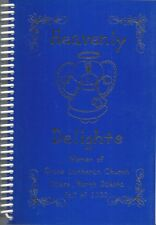 OAKES ND 2000 GRACE LUTHERAN CHURCH COOK BOOK * HEAVENLY DELIGHTS * NORTH DAKOTA