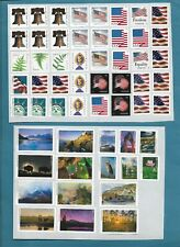 USA 100 x  FOREVER STAMPS. UNFRANKED WITH GUM VALUE $55.-  POSTAGE STAMPS