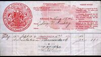 1916 - Allentown PA  -  American Commercial Business School  Letter Head Rare