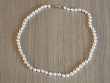 Pearl Necklace 9ct Gold Ladies Stunning Vintage 375 14.1g AU45