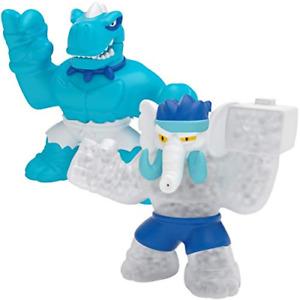 Heroes of Goo Jit Zu Dino Power Versus Pack 2 Action Figures Tyro Vs Gigatusk