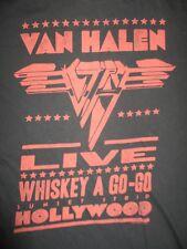 2009 Retro Van Halen Live Whiskey A Go-Go Sunset Strip Hollywood (Med) T-Shirt
