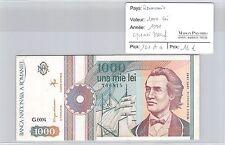 BILLET ROUMANIE - 1000 LEI 1991 - QUASI NEUF !
