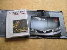 Mitsubishi Carisma Bordmappe Betriebsanleitung Bedienungsanleitung