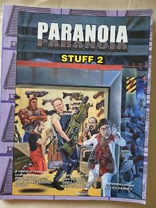 stuff 2 ii the grey subnets xp paranoia sci-fi roleplaying RPG book MGP mongoose