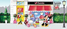 """201x88.9cm panorámico Papel pintado para dormitorio infantil Disney """"Minnie"""