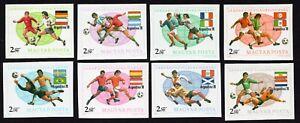 Hungary 1978 set of stamps Mi#3284-91 B MNH CV=20€