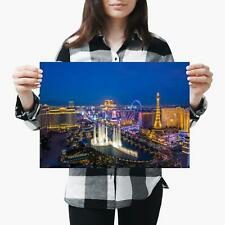 POSTER PRINT PHOTO FORM LANDMARK WELCOME FABULOUS LAS VEGAS NEVADA SIGN SEB171