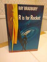 RAY BRADBURY R IS FOR ROCKET VINTAGE HARDCOVER