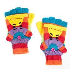 Rainbow Monkey Fingerless/Mitten Style Fashion Gloves