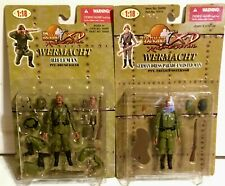 2-ULTIMATE SOLDIERS - WERMACHT - 1:18 - X-D - PVT HAUER & PVT OSTERNOR - NEW -