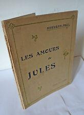 Hermann-Paul,LES AMOURS DE JULES,1902 Felix Juven[arte,illustrazione