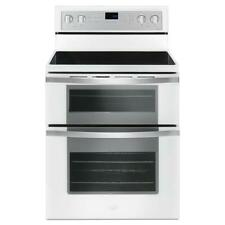 Whirlpool Smooth Surface Double Oven Convection Electric Range