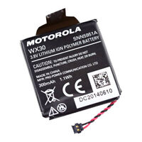 Original Battery WX30 SNN5951A  For Motorola Moto 360 1st-Gen Smart Watch
