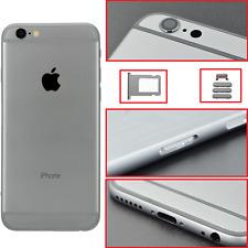 BACK RETRO COVER MIDDLE SCOCCA TELAIO POSTERIORE PER APPLE IPHONE 6S NERO GREY