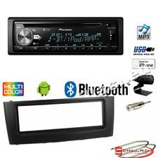 Pioneer DEH-X5900BT autoradio CD/USB + Kit montaggio per Fiat Grande punto nera