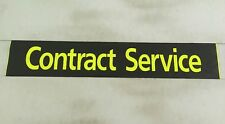 "Scania Bus Destination Blind 36""- # Contract Service"