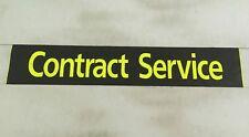 "Scania Bus Destination Blind 36""- # Contract Service"