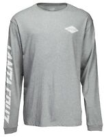SANTA CRUZ DROP IN LONG SLEEVE T-SHIRT DARK HEATHER