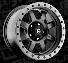 Fuel Trophy D551 17x8.5 5x5.5 ET-6 Matte Black Rims (Set of 4)