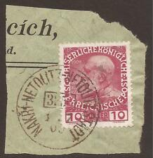 Used Trains, Railroads Austrian Stamps