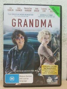 Grandma DVD (2016) Lily Tomlin, Judy Greer - REGION 4 AUSTRALIA
