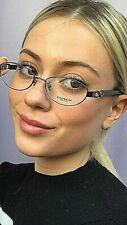 New COACH HC 6250 1790 52mm Dark Silver/Black Rx Women Eyeglasses Frame