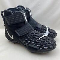 Nike Force Savage Elite 2 TD Black Men's Size 9 Football Cleats AH3999-001 NEW