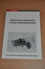 Werkstatthandbuch HONDA Elektronisch gesteu. Vierradlenkung 4-Gang-Automikgetr.