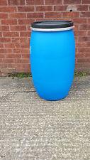 120L Litre Open Top Plastic Barrel, Keg, Drum Over 100 plus in stock