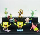 8pcs Spongebob Squarepants PVC Figures Hot