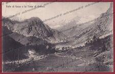 TORINO VAL SOANA 02 CANAVESE - VALLE DI FORZO Cartolina viaggiata 1915