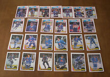 1987-88 & 1988-89 OPC QUEBEC NORDIQUES TEAM SETS