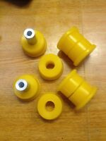 BMW E36 REAR SUBFRAME BUSHES-(NOT COMPACT) in Duraflex Yellow Polyurethane