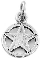 STERLING SILVER TEXAS LONE STAR CHARM OR PENDANT