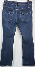 Harley Davidson Womens Jeans Size 6 Crystal Bling Mid Rise Bootcut 32 x 32