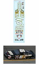 #01 Mark Martin ARMY 2007 decal AFX Tyco Lifelike 1/64 scale